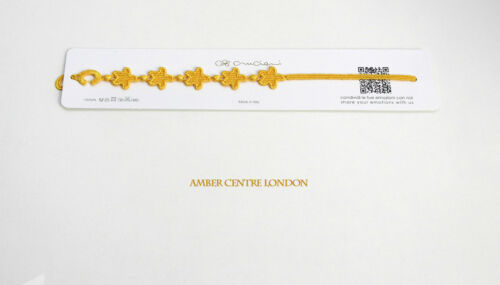 Original Hecho Italiano Cruciani bracelet-starfish Amarillo