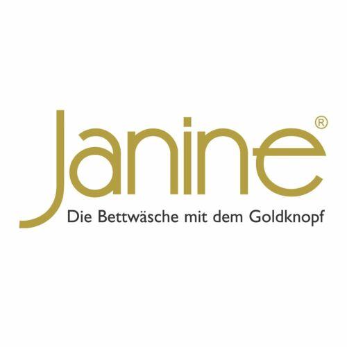 Janine Bettwäsche J.D 8468 braun schwarz Streifen modern quer elegant Satin