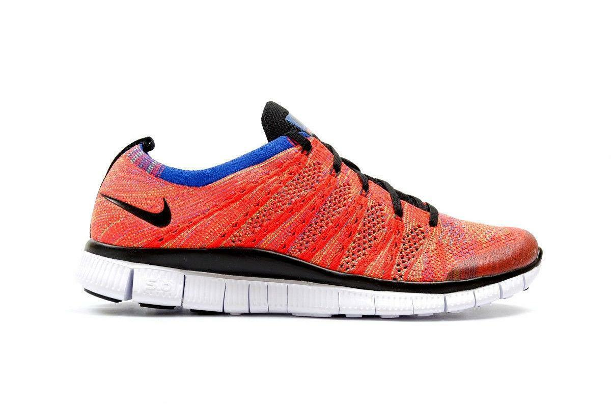 Mens NIKE FREE FLYKNIT NSW Lightweight Running Trainers 599459 601