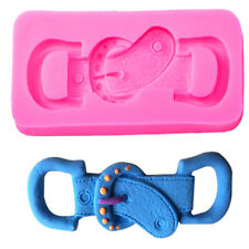 Silicone Mould Cowboy Style Belt Buckle Fondant Mold Chocolate Candy Cake Decor