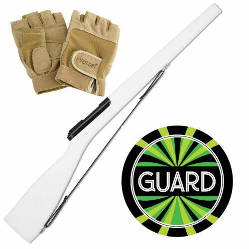 black bolt Ever Dri Gloves and decal bundle DSI Elite 3 Color Guard Rifle