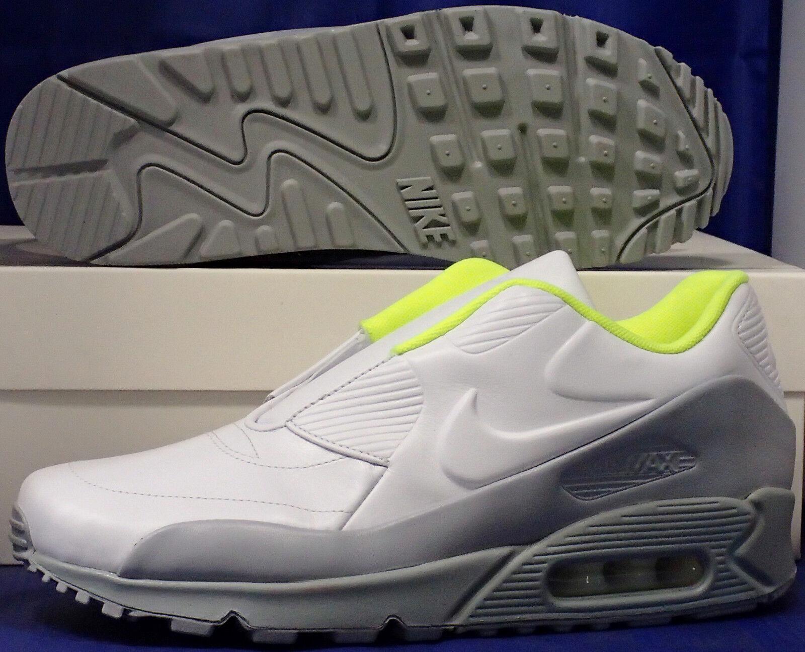 Mujer Nike Air Max 90 90 90 Sp   Sacai blancoo gris Lobo Volt Talla 9 (804550-110)  el más barato