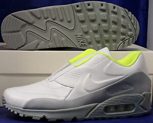 finest selection 8d0c2 02913 Image is loading Womens-Nike-Air-Max-90-SP-Sacai-White-