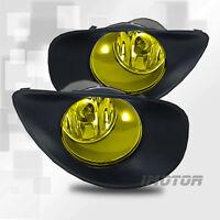 2006-2008 Toyota Yaris 2 Door Hatchback Yellow Fog Lights W/wiring Kits & Switch