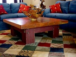 Reclaimed Wood Center Table