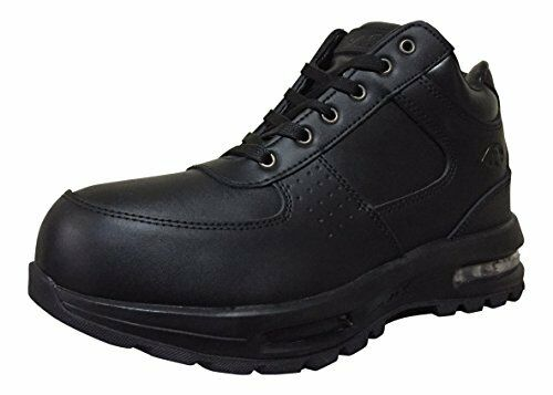 Mountain Gear Men's Hiking Black Leather Boots With Air Sole 31635101A