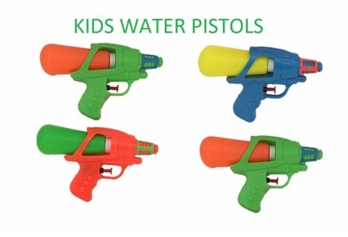 KIDS WATER PISTOLS WATERING GUNS COMPACT EASY USE FILL GARDEN PARTY FUN