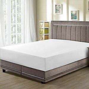 Fitted-Sheet-Hotel-Quality-Premier-1800-Collection-Velvety-Microfiber-CC-amp-DD