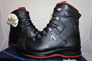 HAIX trekker pro 2.0 UK 9,5 UE 44 us 10,5 zapatos de trabajo de cuero botas de trabajo nuevo