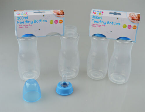 BPA Free By First Steps Baby Bottles Silicone Teat Pack Of 4 New Born