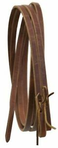 Showman-USA-MADE-8-039-x-5-8-034-Western-Leather-Split-Reins-NEW-HORSE-TACK
