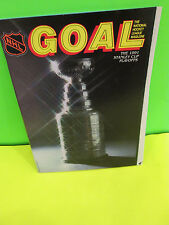 NHL-BOSTON BRUINS 1991 STANLEY CUP PLAYOFFS VS. MONTREAL CANADIENS PROGRAM