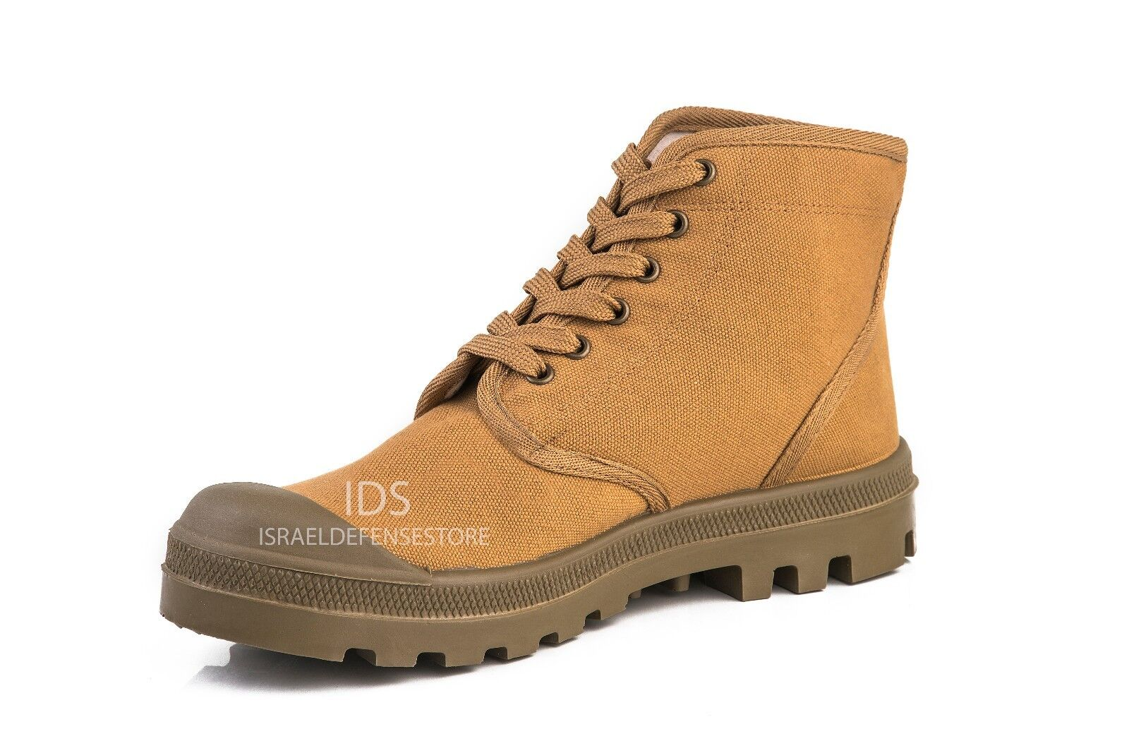 Israel Defense Forces Scout Commando Palladium Style TAN VEGAN Boots US13 EU47