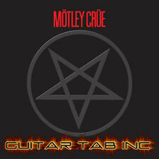 Motley Crue Digital Guitar Tab SHOUT AT THE DEVIL Lessons on Disc Mick Mars