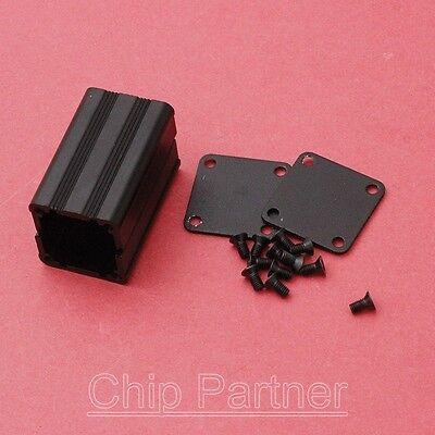 40*25*25mm Aluminum PCB Box Black Enclosure Extruded Electronic Project Case DIY