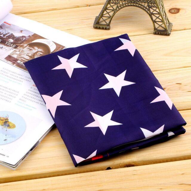 Jumbo 3'x5' FT Polyester American Flag USA US Be Show off Your Patriotism Uz
