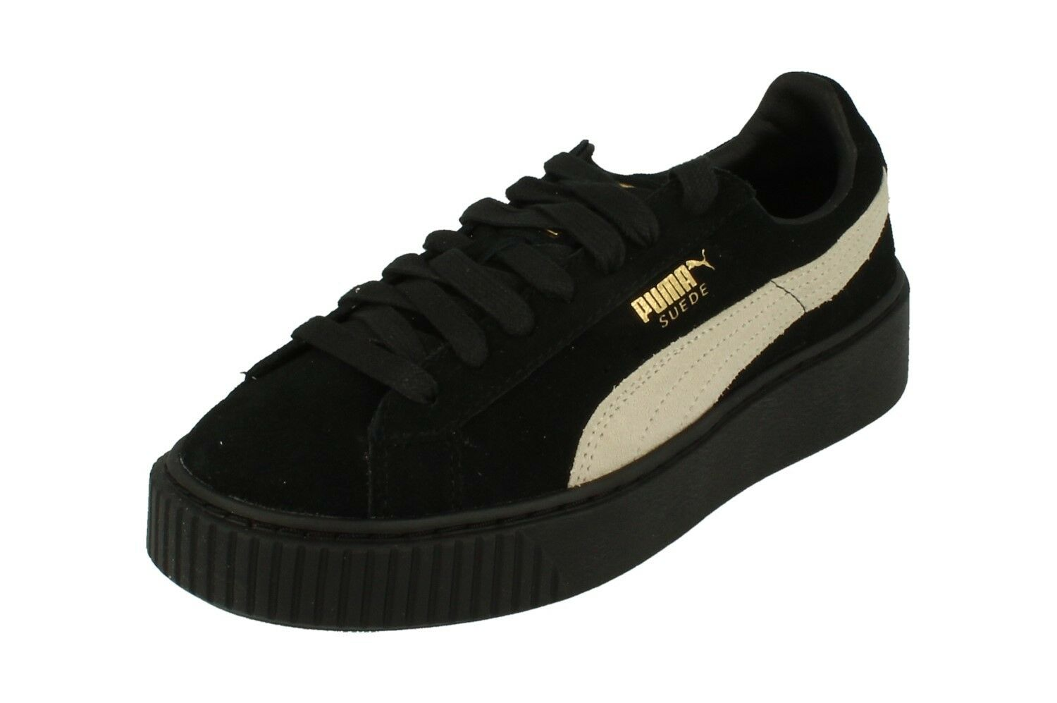 Puma Suede Platform Fl Womens Trainers 364718 Sneakers Shoes  03