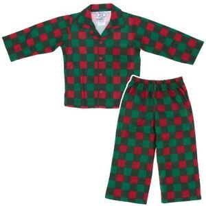 Sara-039-s-Prints-Red-Checked-Coat-Style-Holiday-Christmas-Pajamas-for-Boys