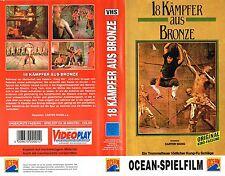 (VHS) 18 Kämpfer aus Bronze - Eastern Klassiker (1976)