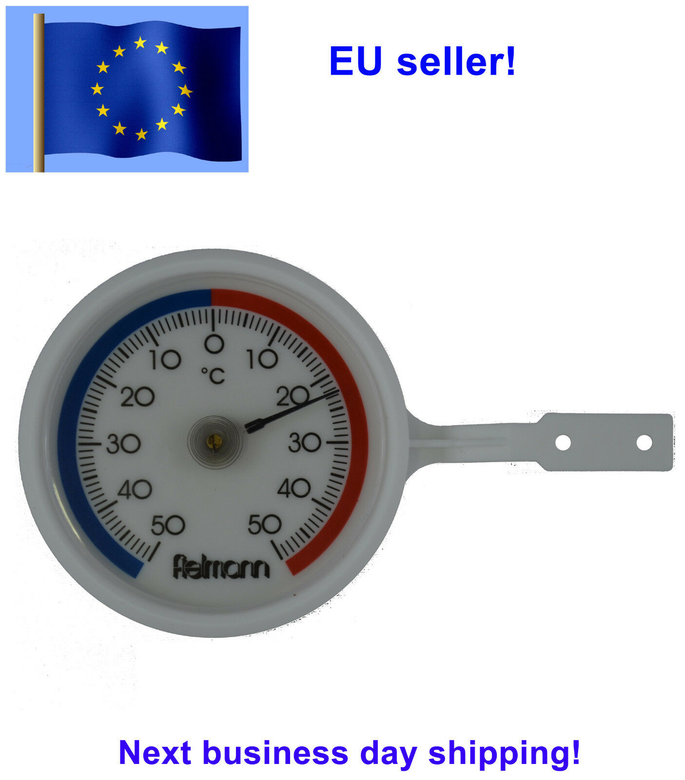 New Outdoor Indoor Thermometer Fielman Germany Outdoor Yard Termometer dial