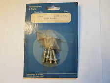 8 Pack:  Part No. 2064 Universal Electric Stud w/ hex Nut 8-32 x 3/4