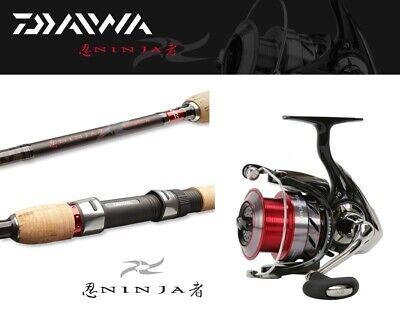 8-35g Daiwa Ninja Jiggercombo 2,70m Ninja 3000A Spinncombo