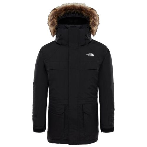 Black The North Face Childrens McMurdo Down Parka