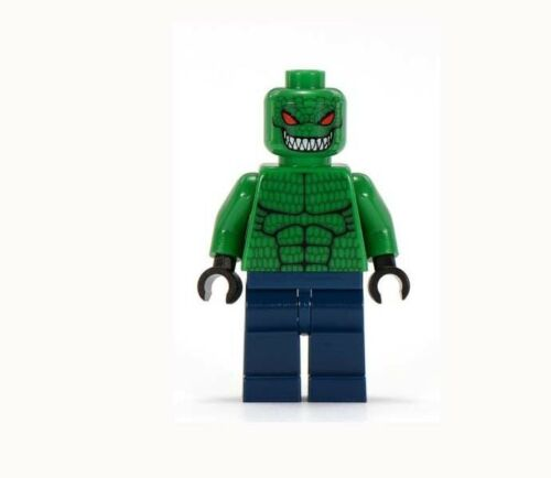 Killer Croc minifigure action movie Dark Knight batman DC Comic toy figure