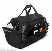 Oakley 85l Large Sport 28 Black Duffle Bag Made For Travel Or The Gym -