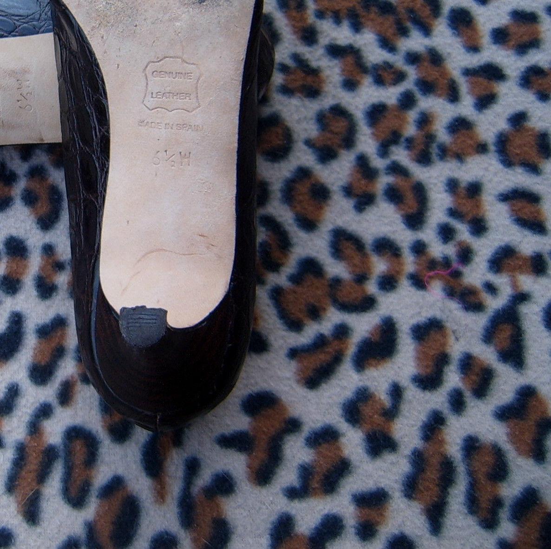 Vintage TALBOTS schuhe all real Leder  schuhe TALBOTS Größe 6.5 W, EURO 37, UK 4 76abf2