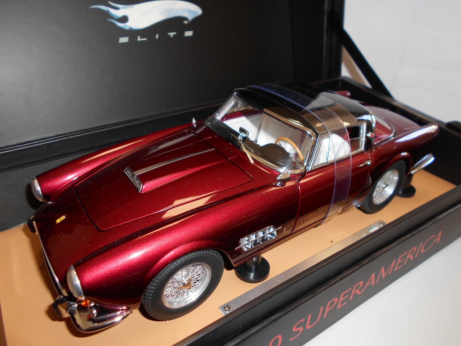 Hwen 2082 by Hot Wheels Elite Ferrari 410 Superamerica 1956 1 18
