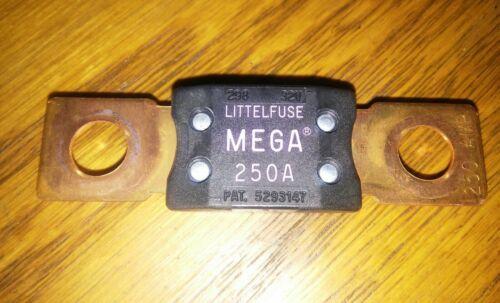 Littelfuse 32V MEGA Fuse 250 Amp Bolt down Blade Original BMW littlefuse