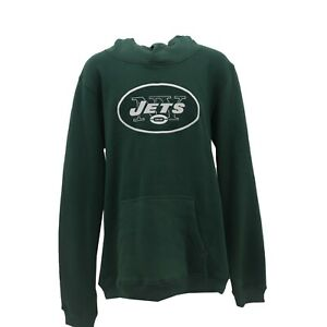 huge discount 7c842 1de32 New York Jets Official NFL Apparel Kids Youth Size Hooded ...