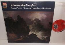 ASD 3018 Tchaikovsky Manfred Symphony London Symphony Orch Andre Previn HP TAS