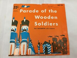 VINYL-RECORD-PLAYTIME-PARADE-OF-THE-WOODEN-SOLDIERS-RAY-HEATHERTON