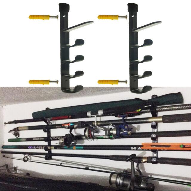 Organized Fishing Modular Wall Rack