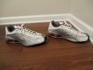 premium selection 4f90b ff177 Image is loading Used-Worn-Size-12-Nike-Shox-R4-Shoes-