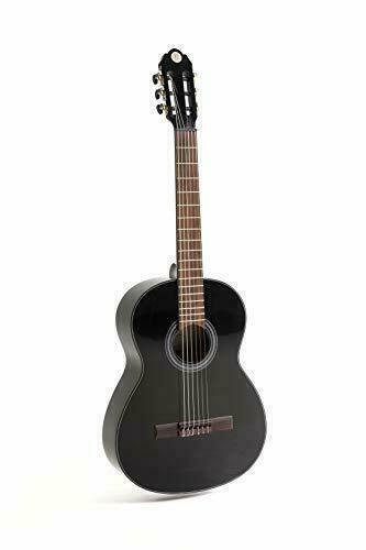 Klassikgitarre NAVARRA NV142 Konzertgitarre special dark moon 4//4 Größe schwarz