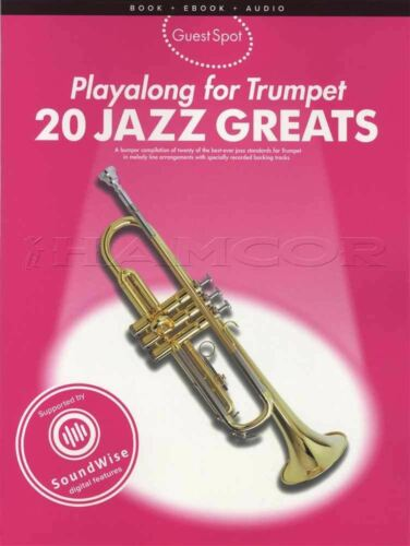 Playalong for Trumpet 20 Jazz Greats Sheet Music Book with Audio Fever Perdido