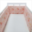 Baby-Crib-Bumper-Thicken-Pad-Breathable-Comfy-Toddler-Bed-Cot-Protector-Cotton miniature 9