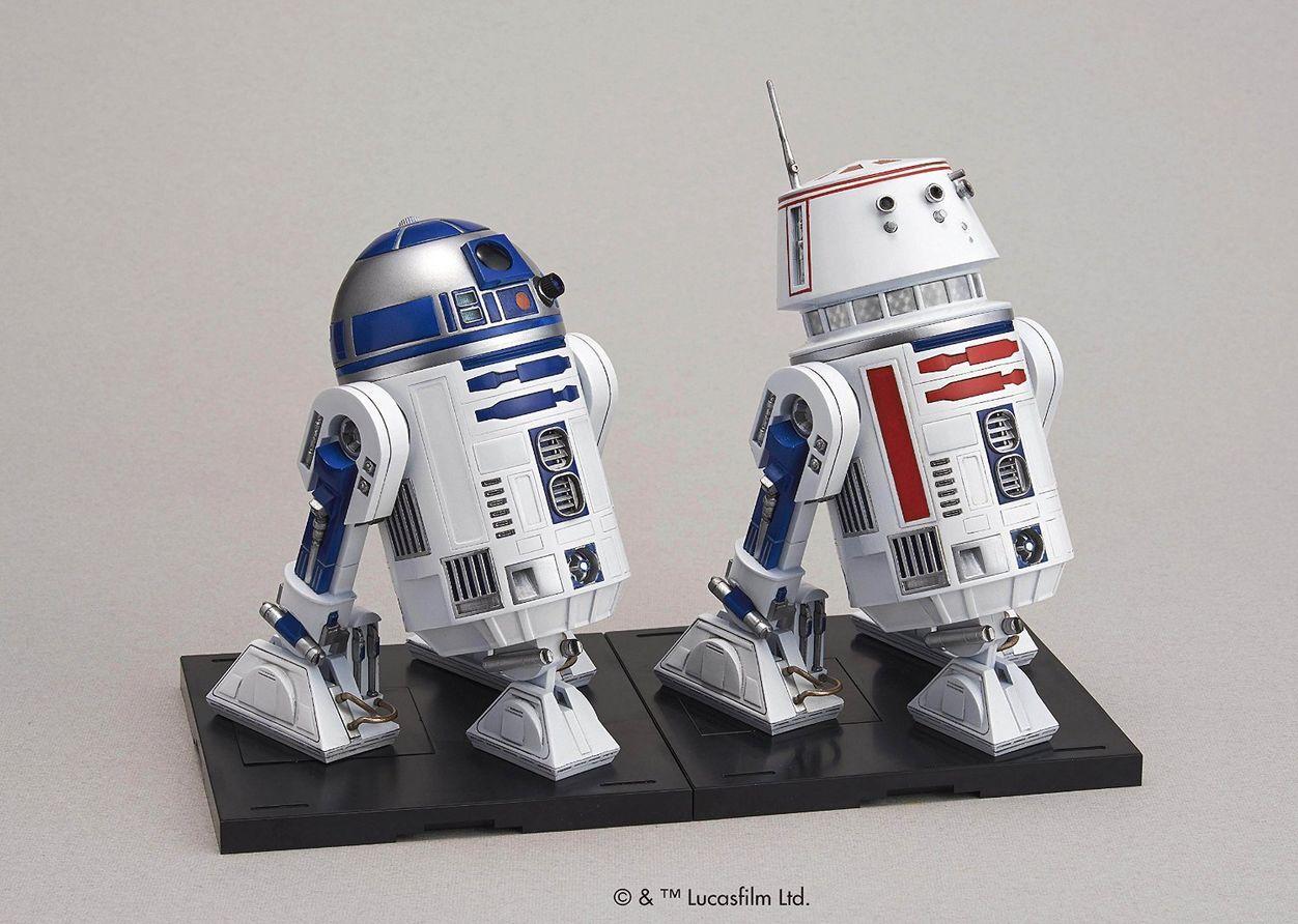 Bandai Star Wars R2-D2 & R5-D4 1 12 Plastic model kit