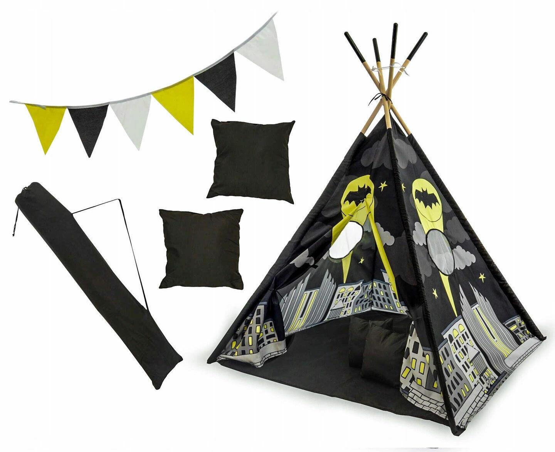 Tenda TIPI Gioco Per Bambini Indian House Couleurs 6 Modelli 120x120x180 cm TOP