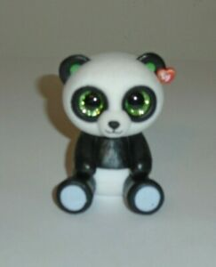 BAMBOO the Panda Bear TY Beanie Boos 2 inch Mini Boo Figure - New Vinyl
