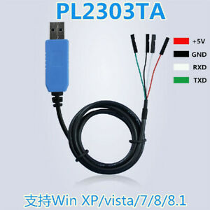 4pin-PL2303TA-USB-to-TTL-RS232-Serial-Port-Adapter-no-crystal-for-Win-7-8-8-1-XP