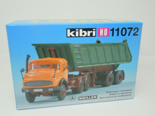Kibri H0 11072 MB Rundhauber mit Kipper Neu