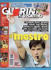 GUERIN SPORTIVO-1998 n.7- ARBITRO MESSINA-CALCIOMONDO-GUIDA MONDIAL-NO POSTER