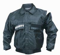 Viper Security Jacket Bomber Police Patrol Doorman Bouncer Sia Guard Coat Black