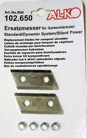 Alko Garten Schredder Klingen H1100s H1300s H1600s 102650