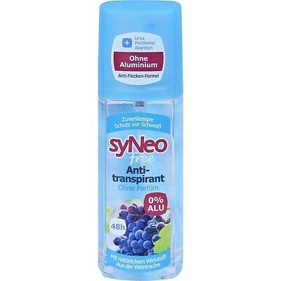 Health & Beauty Syneo Gratuit 48h Anti-transpirant Atomiseur à Pompe 75 Ml Pzn 11191718 Fashionable And Attractive Packages Bath & Body