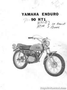 1970 Yamaha Ht1 Motorcycle Parts List Parts Manual Ebay